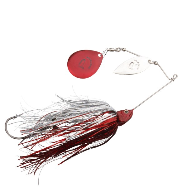 Savage Gear Da'Bush Spinnerbait 32g   Red Silver Flash