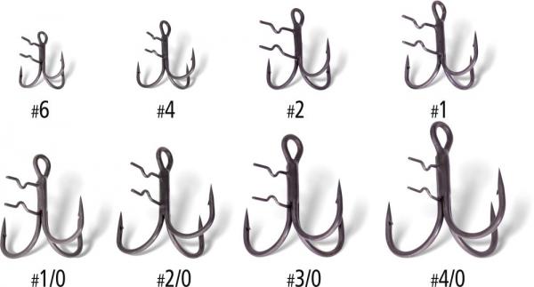 Quantum Q Hooks Claw Treble