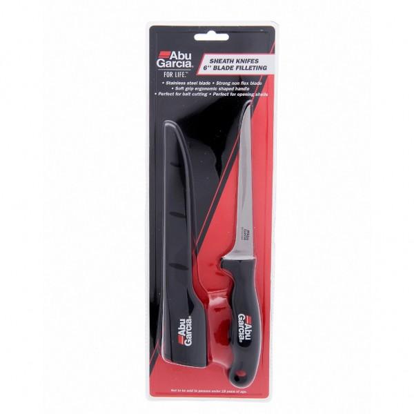 Abu Garcia Sheath Knife - 6in Filleting Filetiermesser