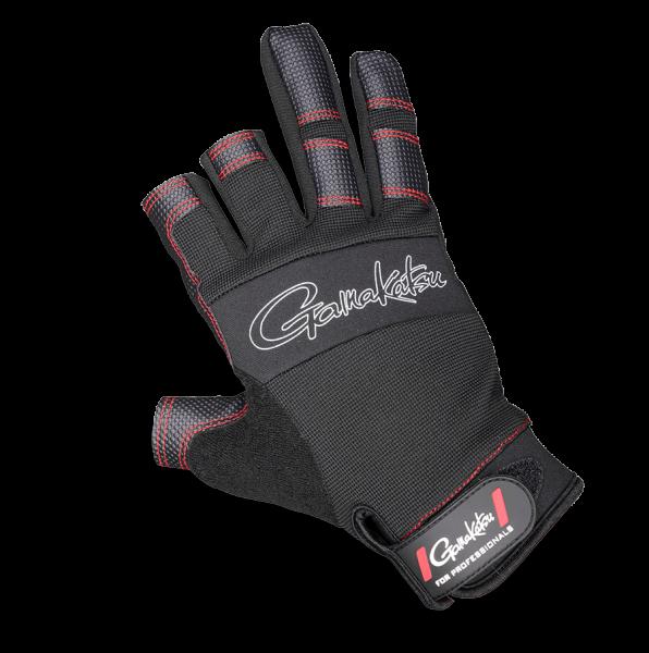 Spro Armor Glove 3 Finger Cut Handschuh Handschuhe Schutzhandschuhe Landehandschuhe verstärkt Neopren schwarz
