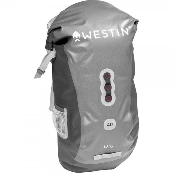 Westin W6 Roll-Top Backpack Silver/ Grey | 40 L