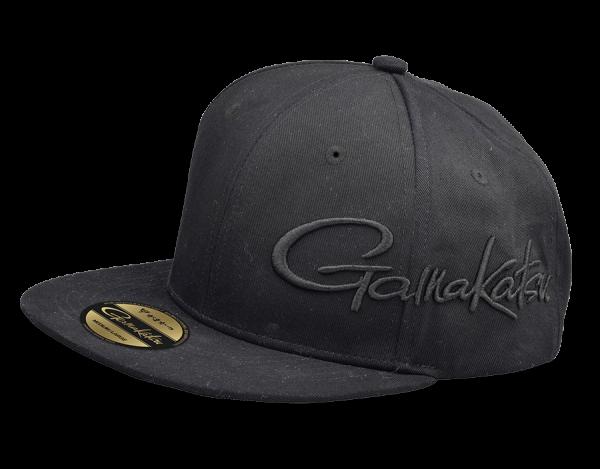 Spro Gamakatsu Flat Cap Snapback schwarz black baumwolle cotton one size fits all medium large