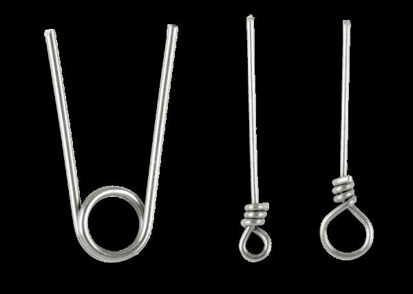 Spro Softbait Spiral Pins Pin Sortiment Doppel-Pin Single-Pin Varianten Mix 3x3