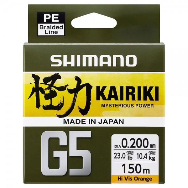 Shimano Kairiki G5 150 m | Orange