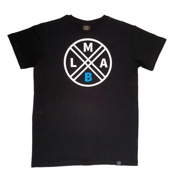 lmabl logo shirt schwarz
