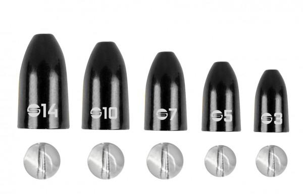 SPRO Freestyle Bullet Sinker Brass