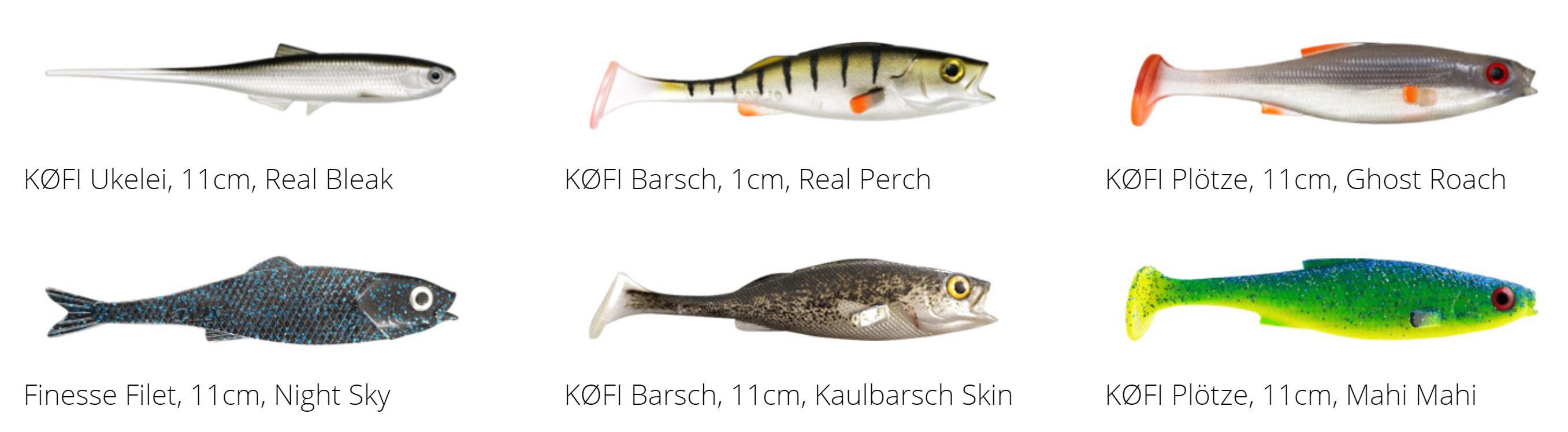 5 Spro Micro Jigs für Köder bis 5 cm mit Gamakatsu-Haken Forelle Barsch Perch