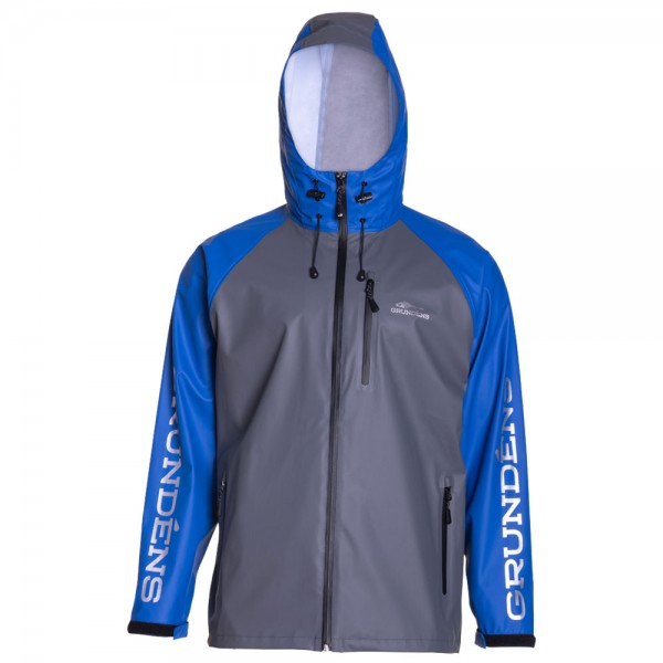 Grundens Tourney Full Zip Jacket | Ocean Blue