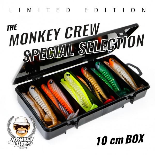 Monkey Crew Special Selection 10cm *LIMITED EDITION* bottom rückseite barschköder zanderköder geflavourt