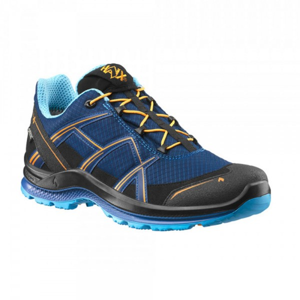 Haix Black Eagle Adventure 2.1 GTX | Low / Navy-Orange