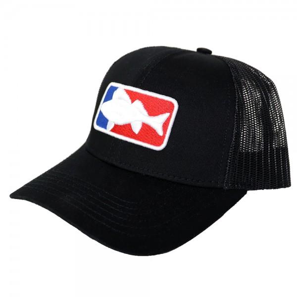 #LMAB Truckercap National Fishing League black
