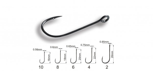 Crazy Fish Micro Jig Joint Hook