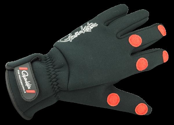 Spro Gamakatsu Power Thermal Gloves Handschuhe Neopren Winter warm robust schwarz Fleece innen Neoprenhandschuhe Winterhandschuhe Rutschfest