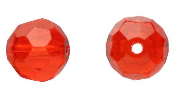 DEKA Glass Beads Red Rot Glasperle in den Größen S M L mit 6 8 10 mm für Carolina oder Texas Rig