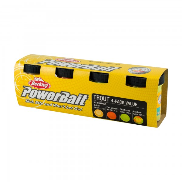 Berkley PowerBait Trout Bait Assortment Forellen-Teig-Set