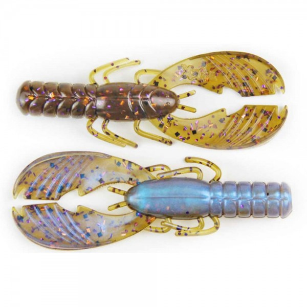 X Zone Lures Muscle Back Craw 4'' | 10 cm