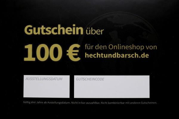 100€ Gutschein | Das Geschenk für Angler