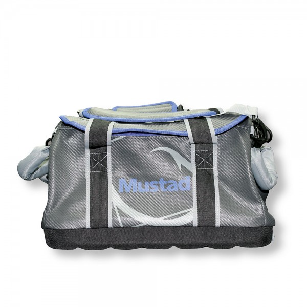 Mustad Boat Bag 24 inch 500D Tarpaulin PVC Grey-Blue