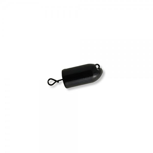 Mustad Fastach Worm Weight Black-Powder | Bleikopf-System