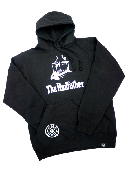 #LMAB Hoodie - The Rodfather (schwarz)