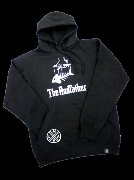 #LMABHoodie Pullover The Rodfather schwarz Baumwolle Polyester langarm Front vorne Kapuzenpulli Pulli mit Kapuze #TheRodfather