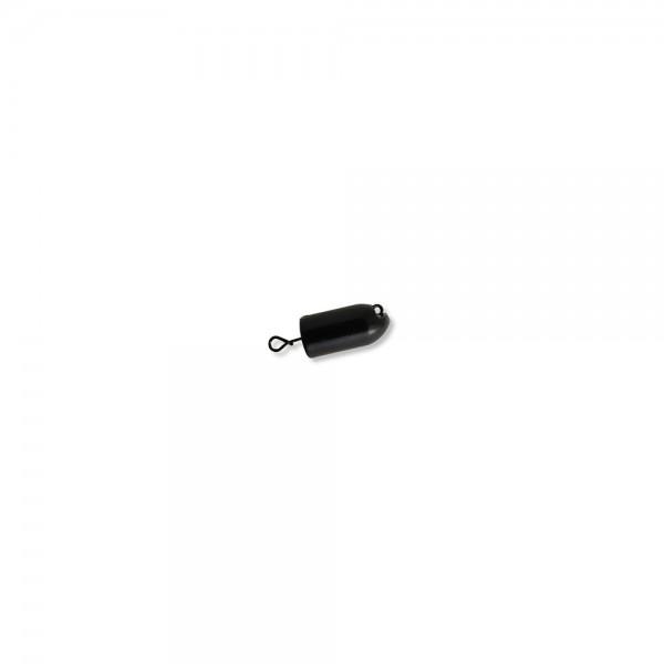 Mustad Fastach Worm Weight Black Powder 3,5g | Bleikopf-System für Softbaits zum Vorschalten vor schlanke Gummiköder, Gummiwürmer , Twister, Eals oder Worm
