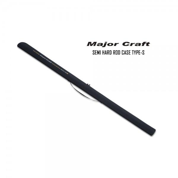 Major Craft Semi Hard Rod Case Typ S ( SHC-66S  SHC-76S SHC-86S SHC-96S SHC-106S )