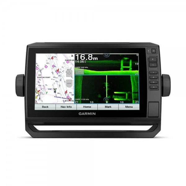 Garmin Echomap UHD 72sv mit GT54-TM-Geber