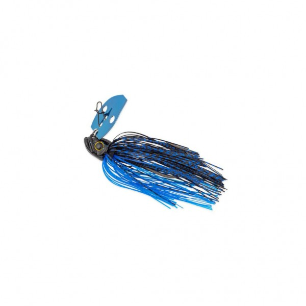 Picasso Lures Shock Blade 14g Chatter Bait Black Blue Blue