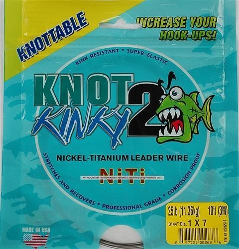 Aquateko Knot 2 Kinky Nickel-Titanium Leader