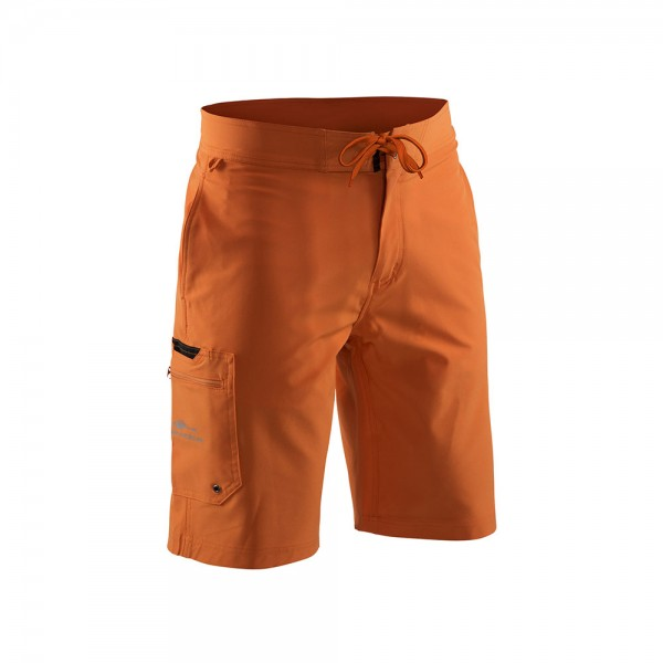Grundens Fish Head Board Shorts | Burnt Orange