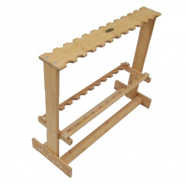 Scratch Tackle Bambus Rutenständer | 24 Ruten