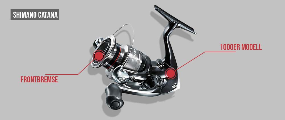 Shimano-Catana-Rolle-f-r-UL-Fishing-Forellenangeln