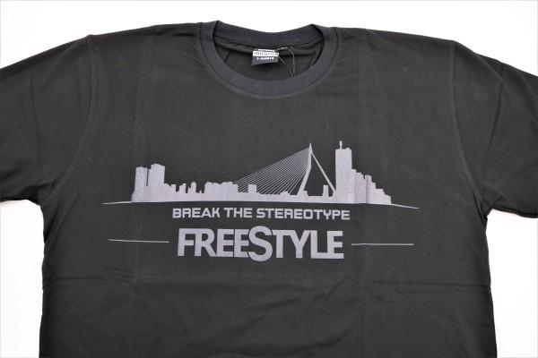 SPRO FreeStyle T-Shirt - Break The Stereotype (schwarz)