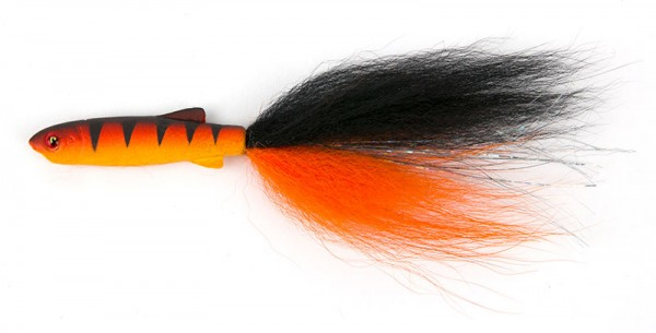 Fox Rage Fish Snax Drop-Shot Fry 12cm Streamer Hot Tiger FOX NSL 1007