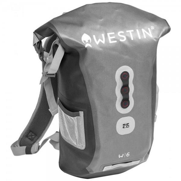 Westin W6 Roll-Top Backpack Silver/ Grey   25 L