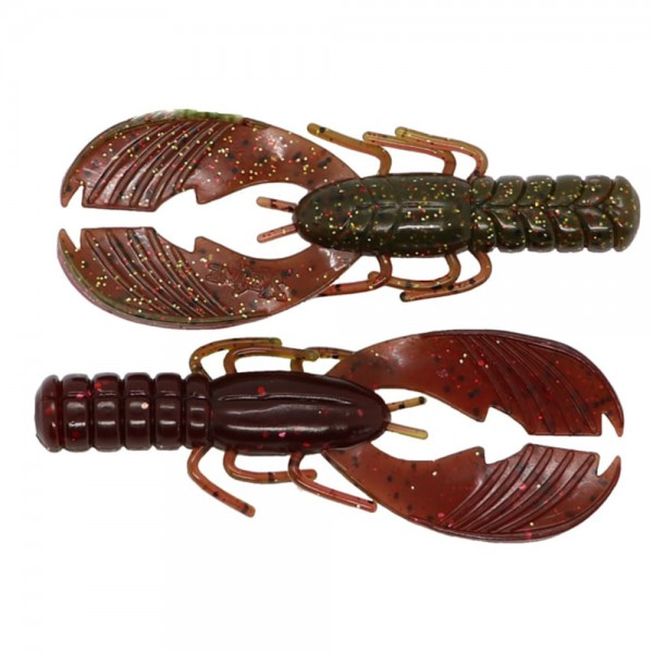 X Zone Lures Muscle Back Craw 4''   10 cm