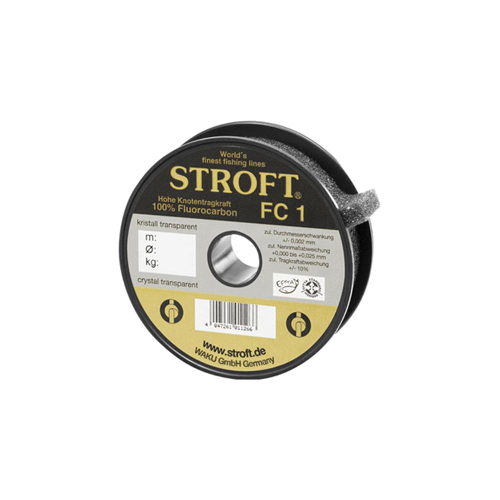 Stroft-Fluorocarbon-Hecht-Zander-Barsch-Vorfach-Fluo