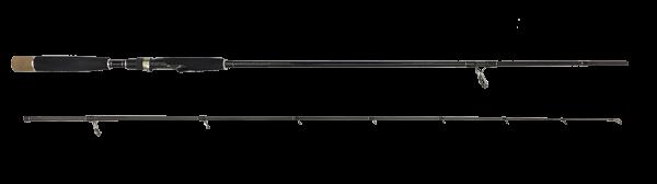 Quantum Vapor Aggressor Medium Lure 215 Spinnrute Barsch Döbel Zander Rapfen mittel Spinner-Rute 2-teilig