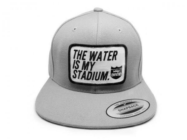 Bass Brigade Stadium Snapback Cap Grey / Black