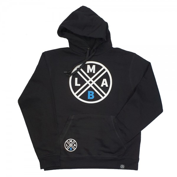LMAB Hoodie Logo schwarz