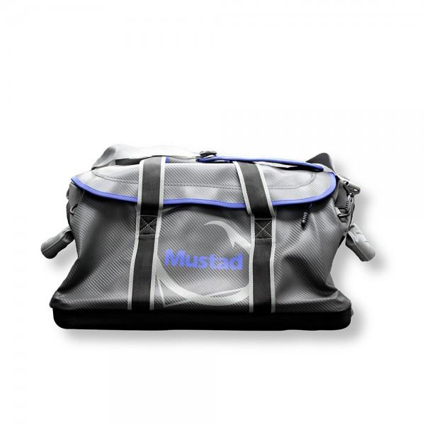 Mustad Boat Bag 18 INCH 500D Tarpaulin PVC Grey-Blue