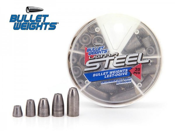 BW Bullet Weights Ultra Steel - 35 Teile