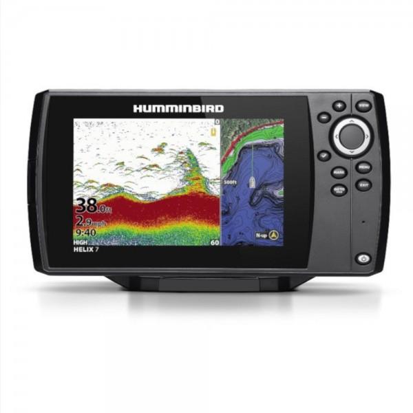 Helix 7 CHIRP GPS G3 Bildschirm