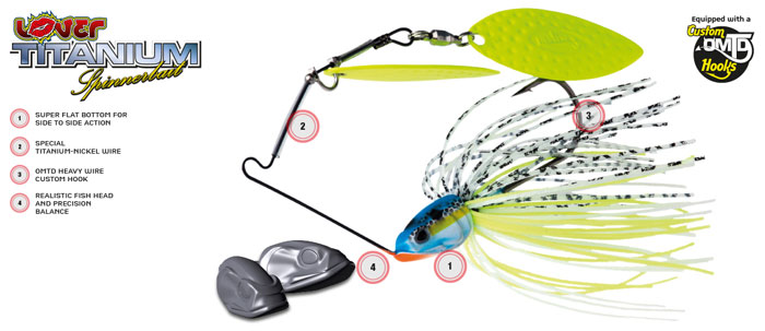 Molix-Lover-Titanium-Spinnerbait-14g-1-2oz-Features