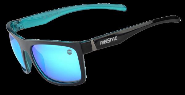 Spro FreeStyle Polarisationsbrile Sonnenbrille Polbrille Sunglasses Blue Mirror blau H2O