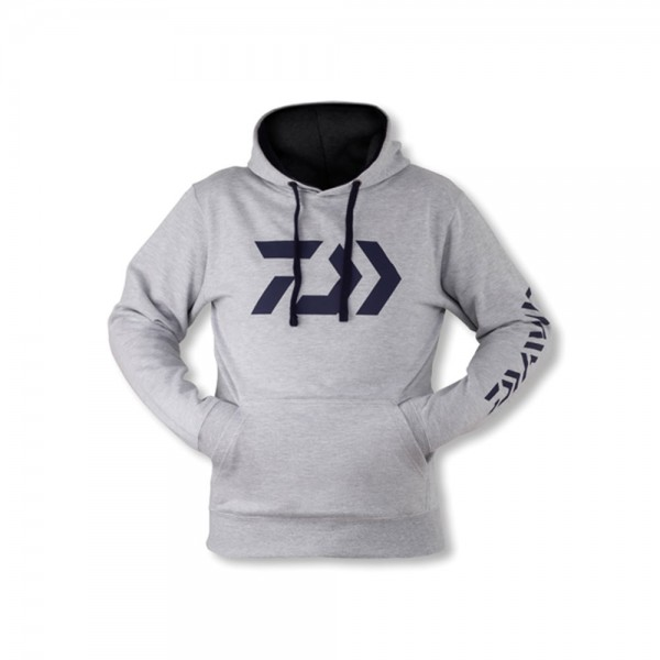 Daiwa D-VEC Hoodie Grey / Grau