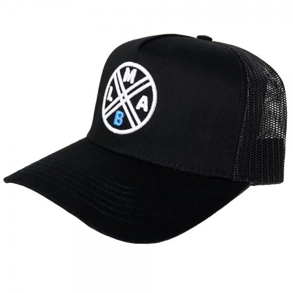 #LMAB Truckercap Logo black