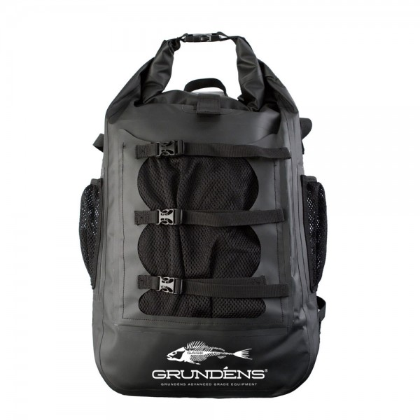 Grundens Rum Runner 30l Waterproof Backpack | Black