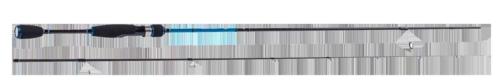 Spinnrute-Favorite-Blue-Bird-Bachforelle-Forelle-angeln